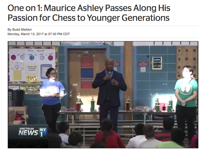 Image for One on 1: Maurice Ashley Passes Along His Passion for Chess to Younger Generations