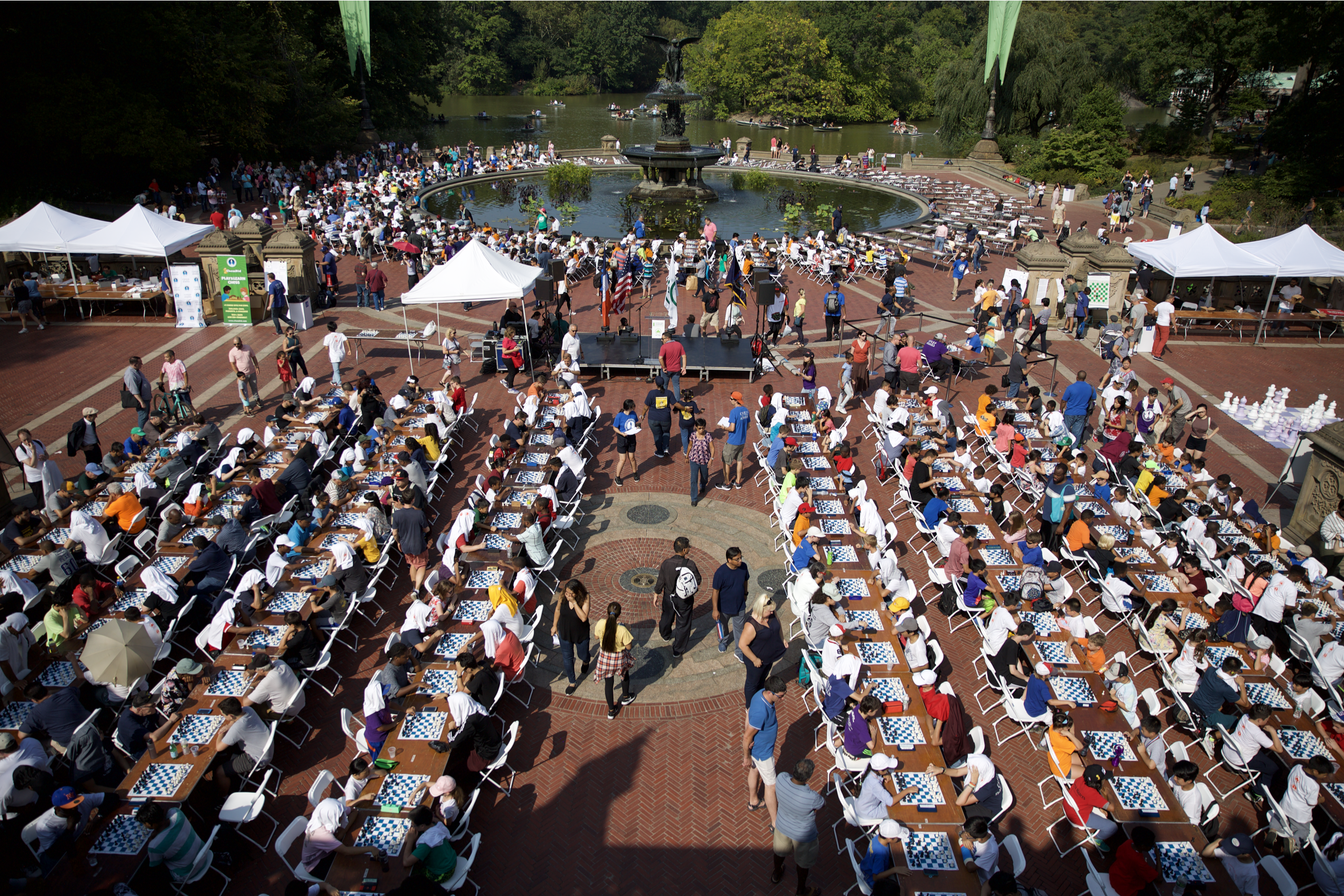 Image for Celebrating our 17th Year of Chess-in-the-Park!