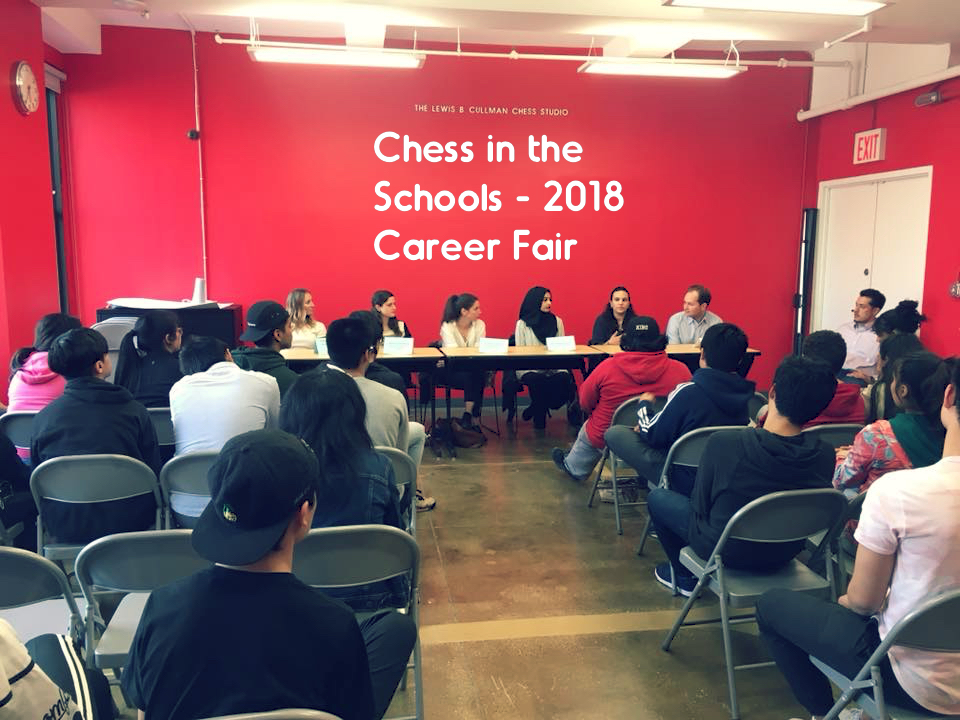 Image for Chess in the Schools 2018 Career Fair