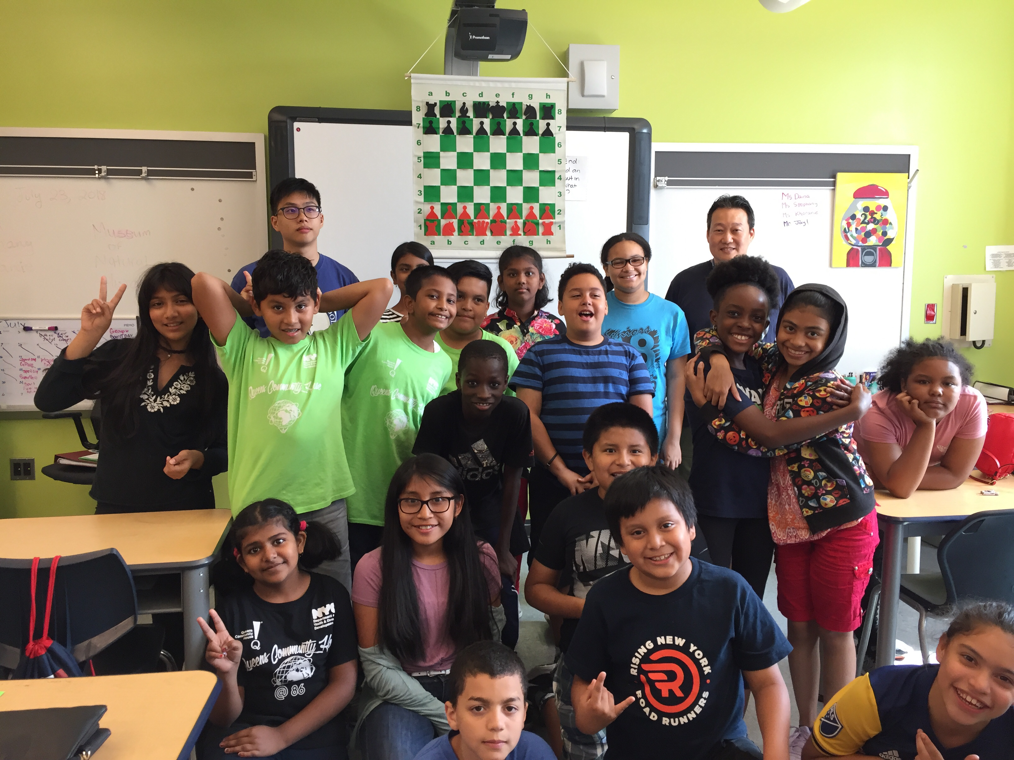 Image for Chess in the Schools Summer Camps and Programs Teaching Over 1,000 Students This Summer
