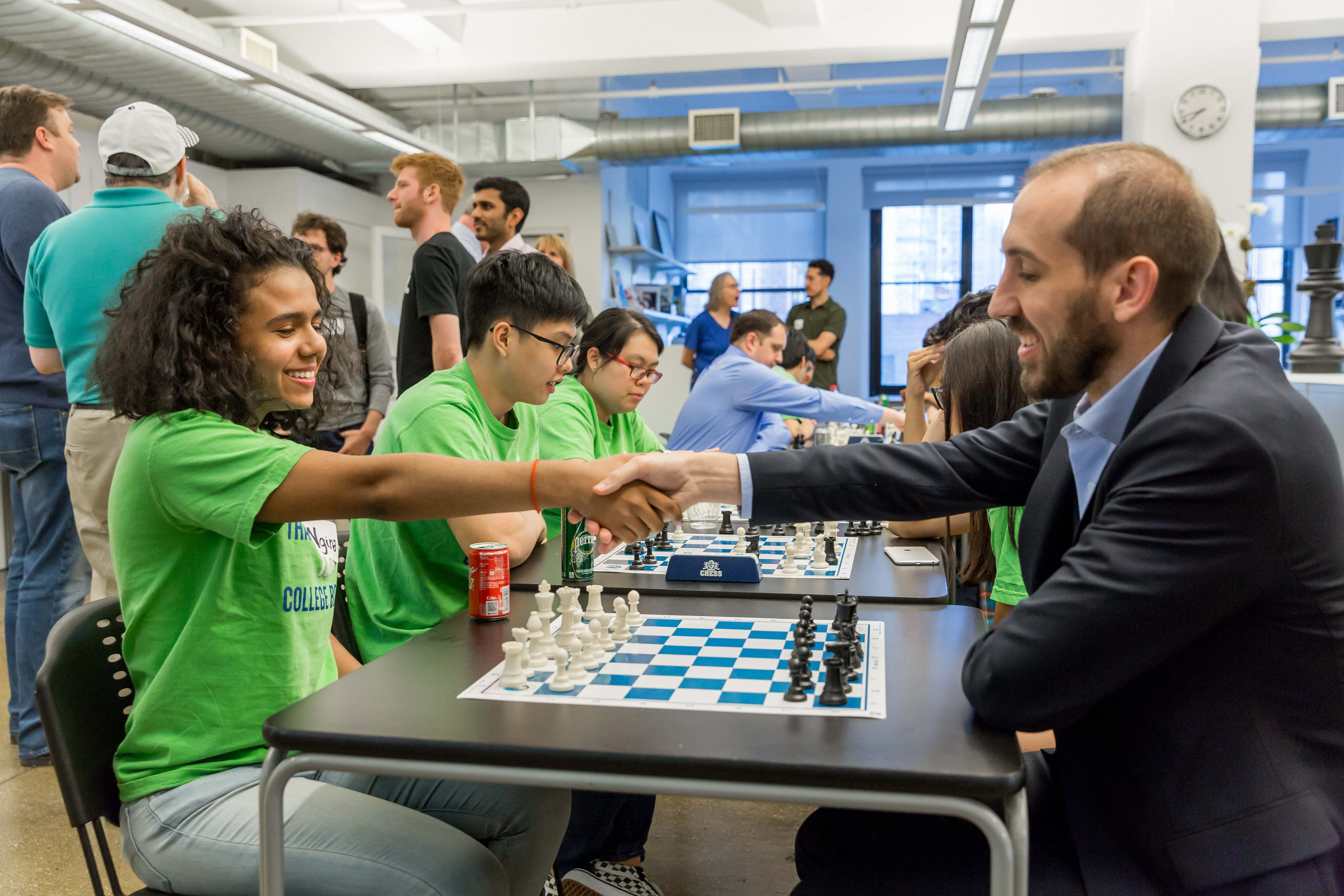 Image for CIS Launches Chess KnightClub