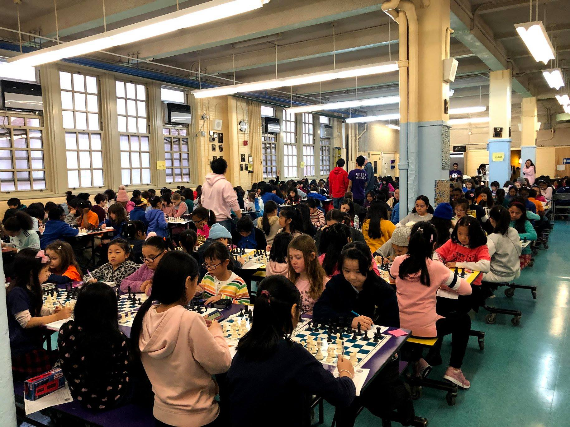 CBS Coverage of the 2019 All Girls NYC Chess Championship
