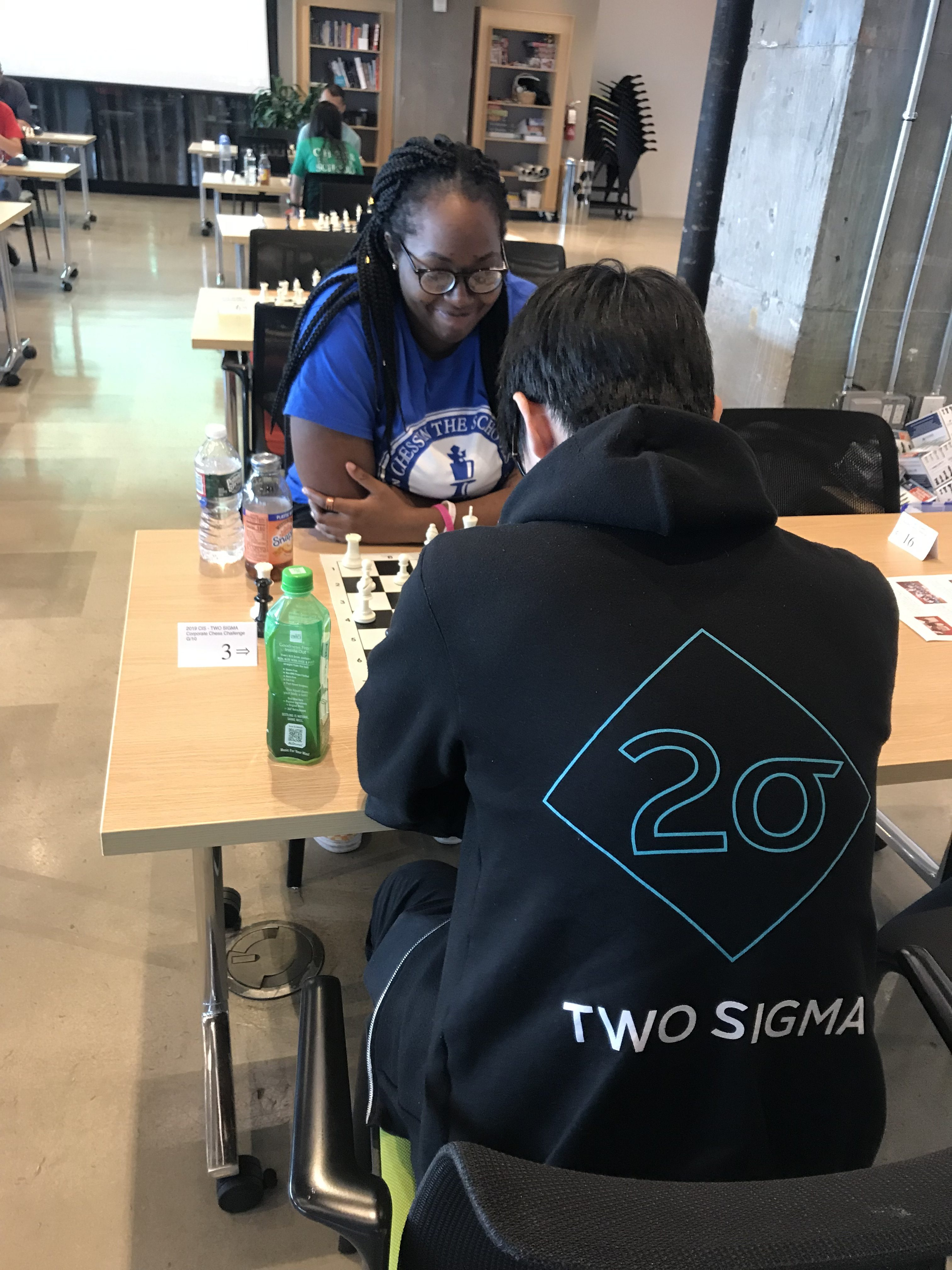 Image for College Bound Visits Two Sigma for Chess Tournament