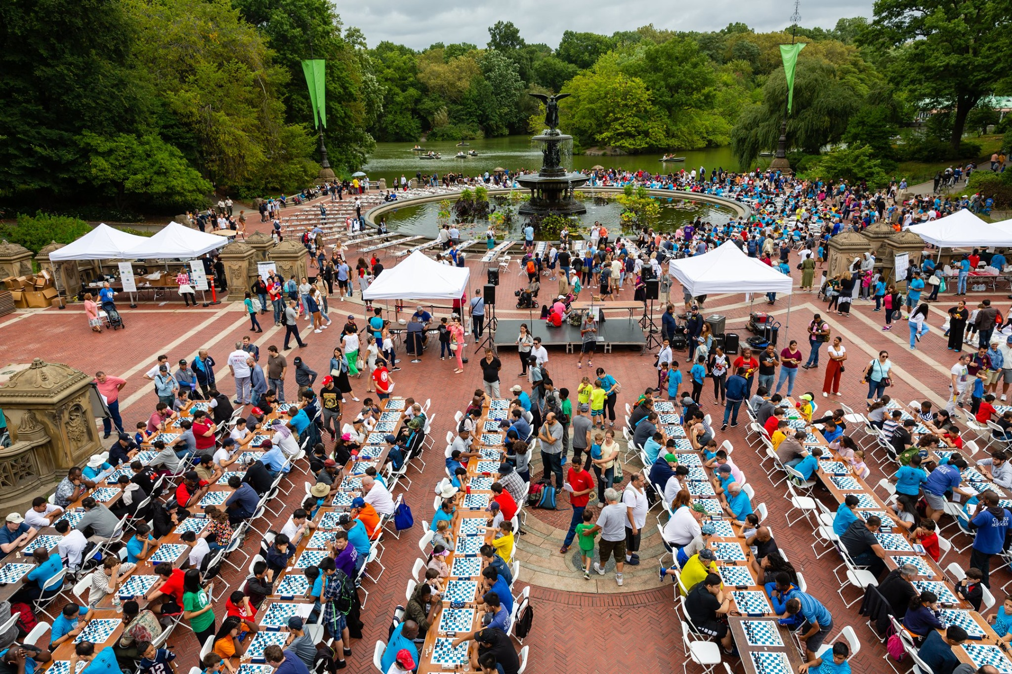Image for 19th Annual Chess-in-the-Park Rapid Open draws 775 players!