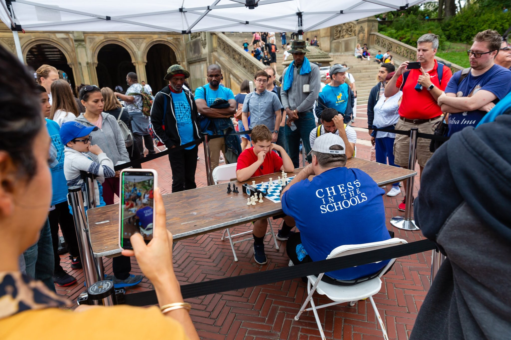 19th Annual Chess-in-the-Park Rapid Open draws 775 players